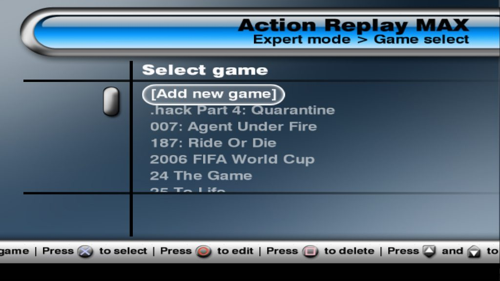 Action Replay Max PS2 ISO