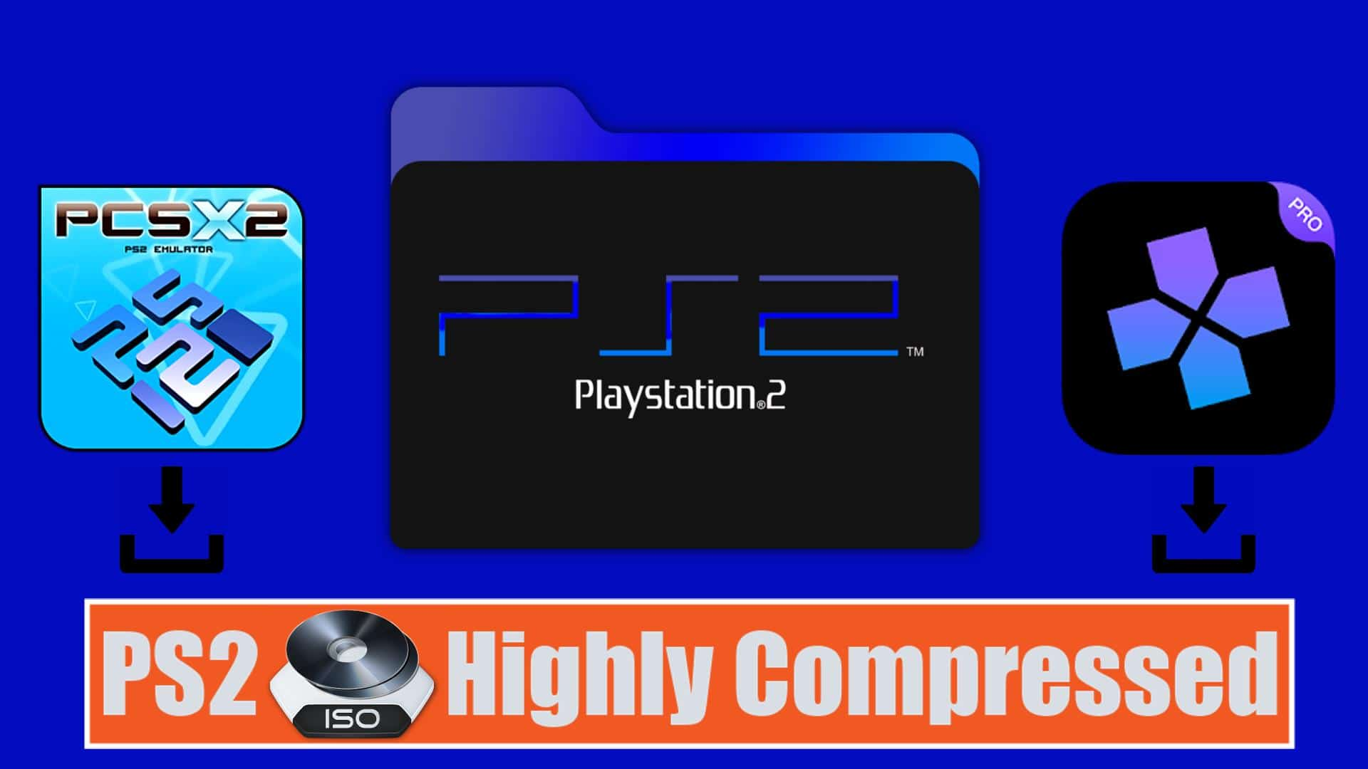 PS2 ISO Highly Compressed