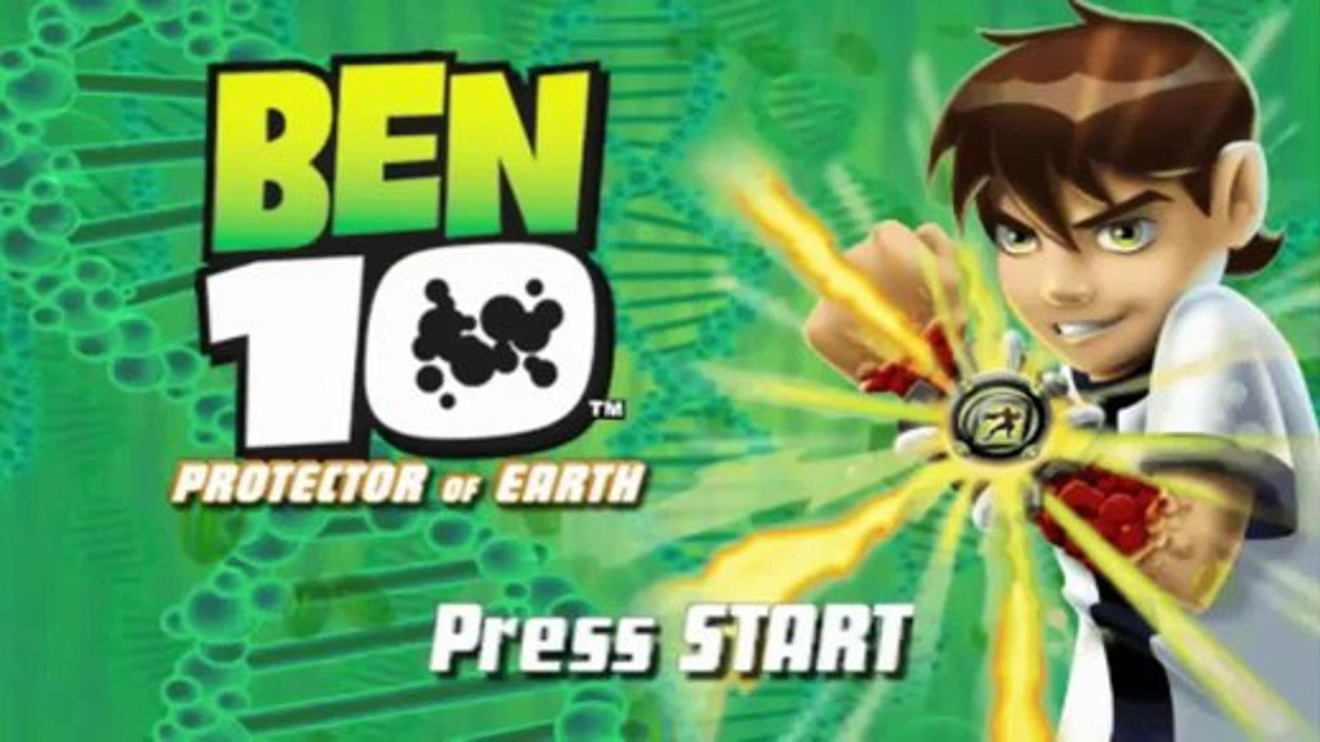 Ben 10 Protector of Earth PSP ISO Highly Compressed