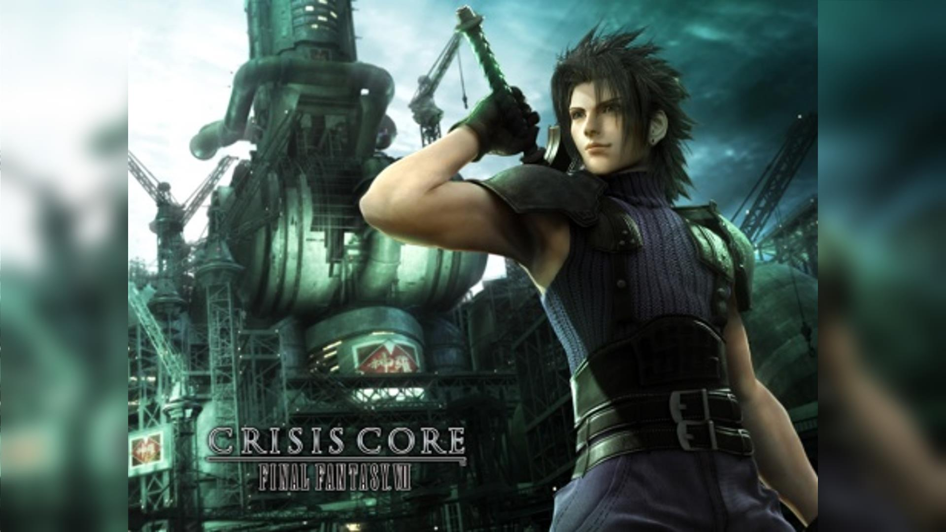 Crisis Core Final Fantasy VII PSP ISO Highly Compressed
