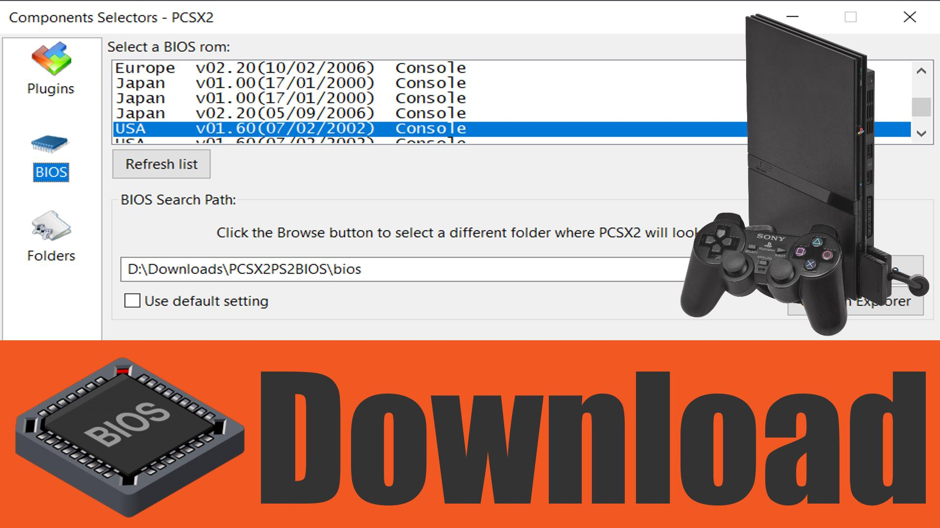 PS2 BIOS Download