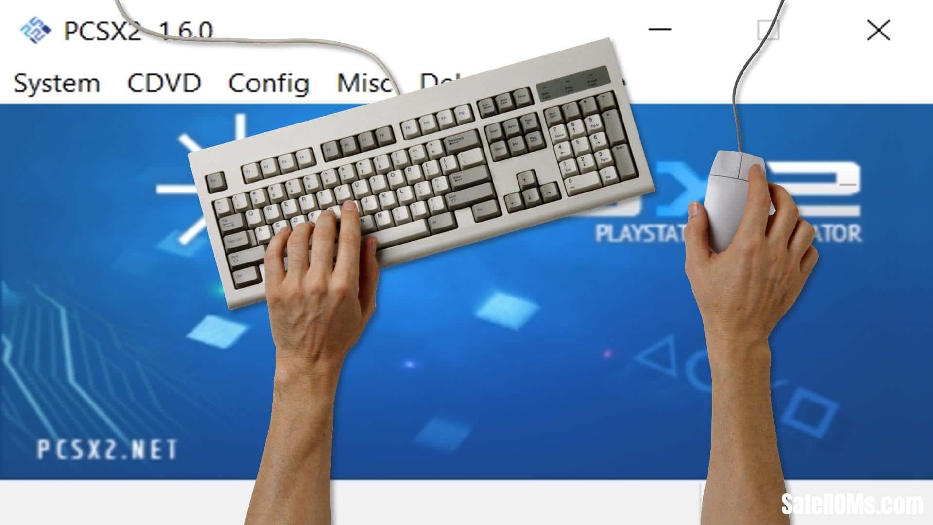 PCSX2 Keyboard Controls