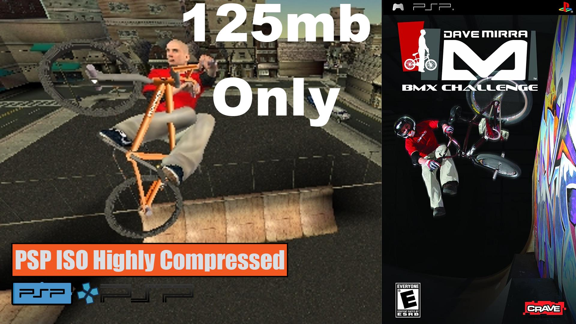 Dave Mirra BMX Challenge PSP ISO Highly Compressed