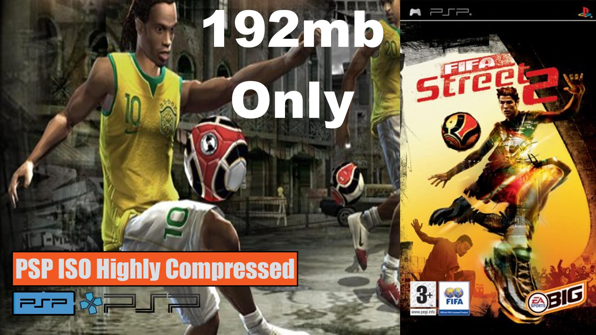 Fifa Street 2 PSP ISO Highly Compressed