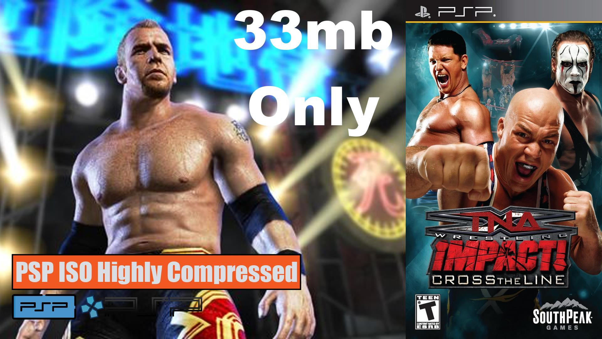 TNA Impact PSP ISO Highly Compressed