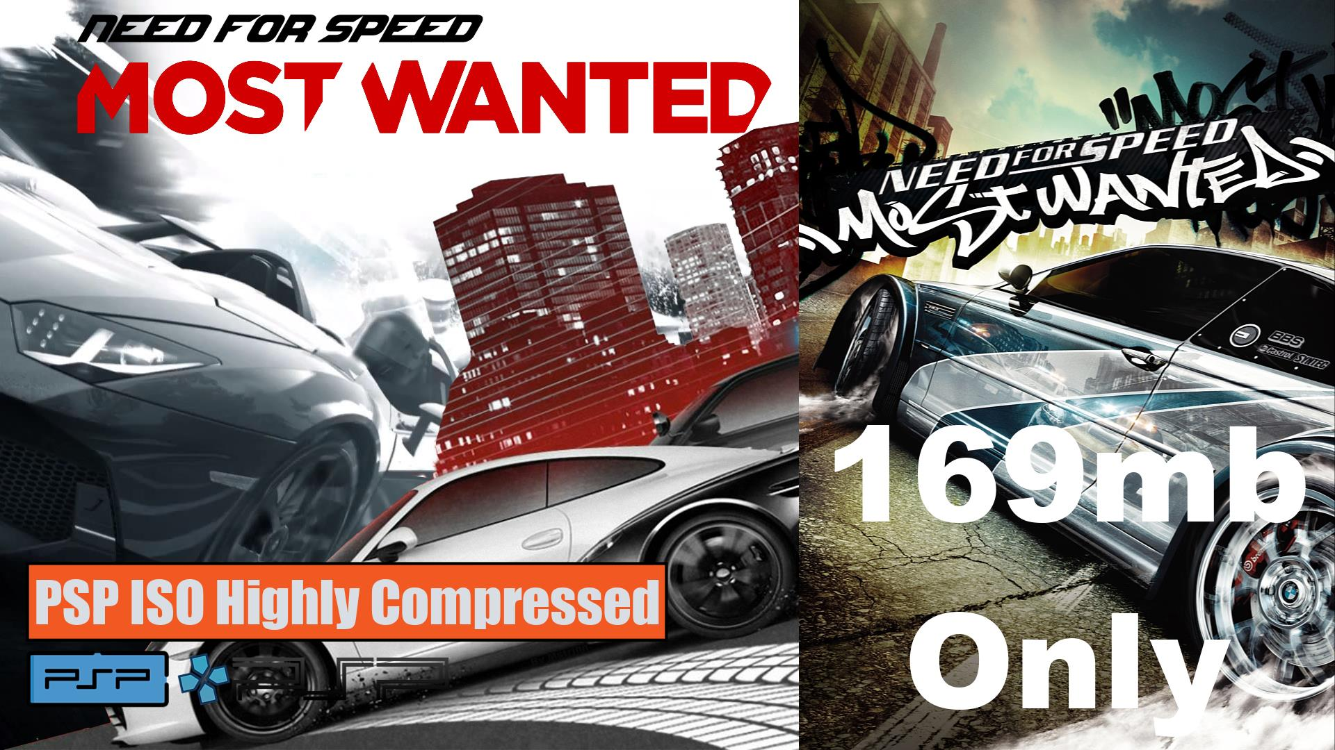 Need for Speed Most Wanted PSP ISO Highly Compressed
