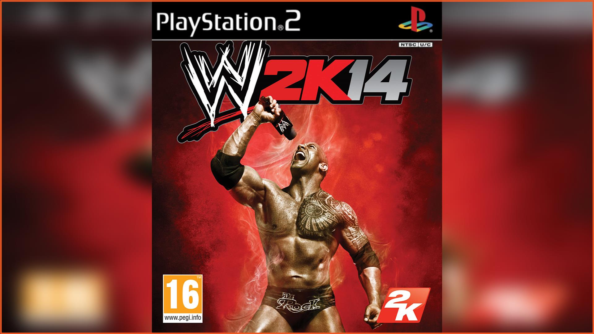 WWE 2K14 PS2 ISO Download