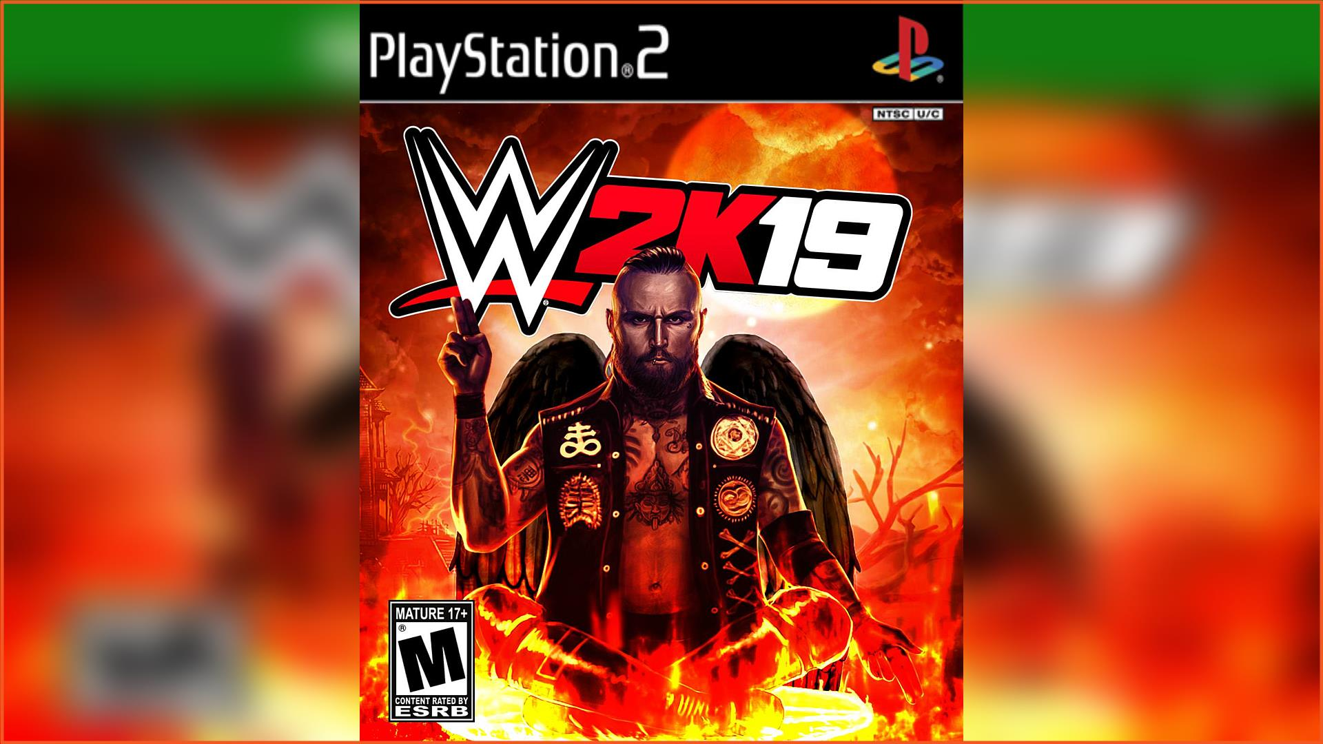 WWE 2K19 PS2 ISO Download