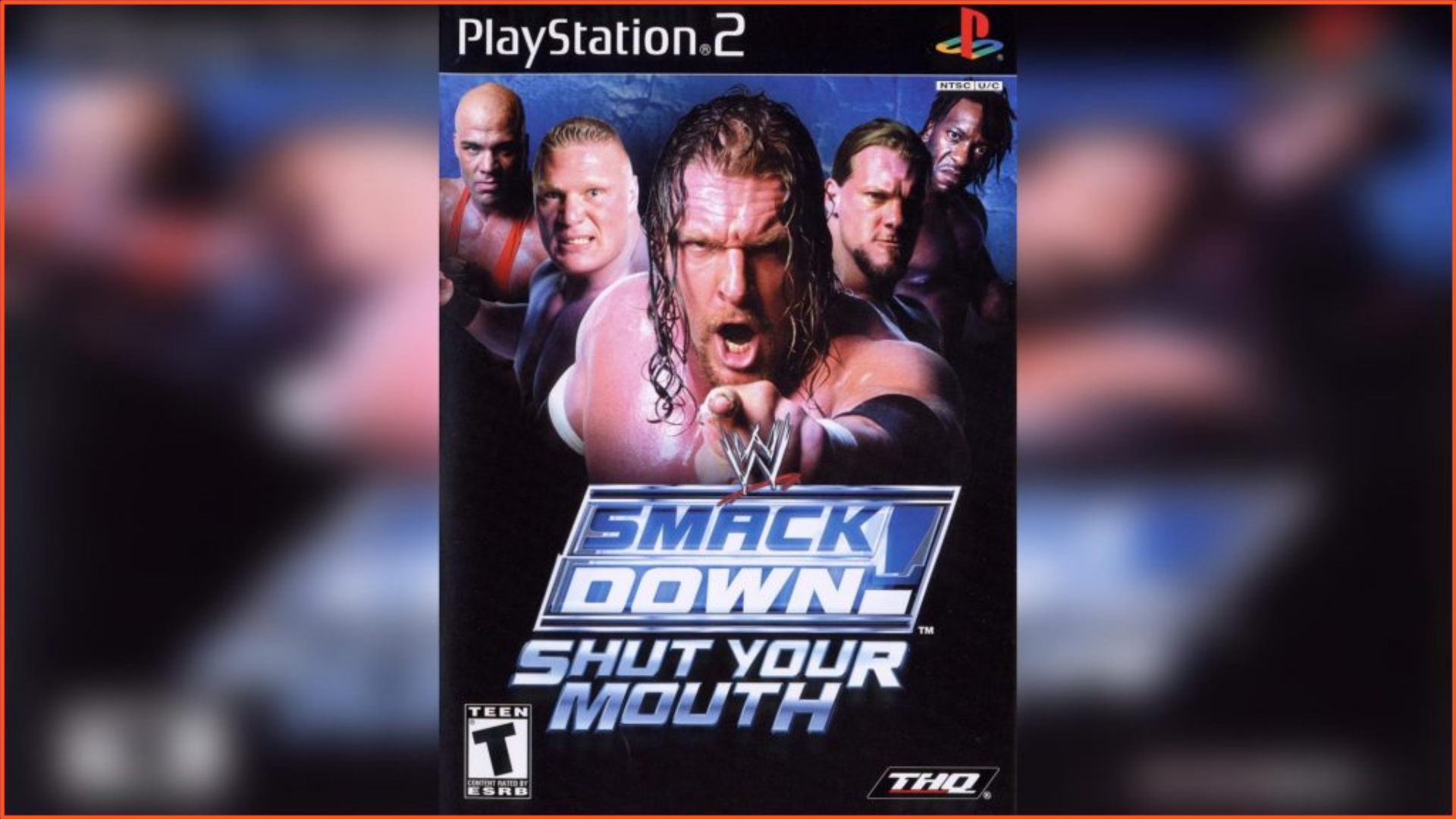WWE SmackDown Shut Your Mouth PS2 ISO Download