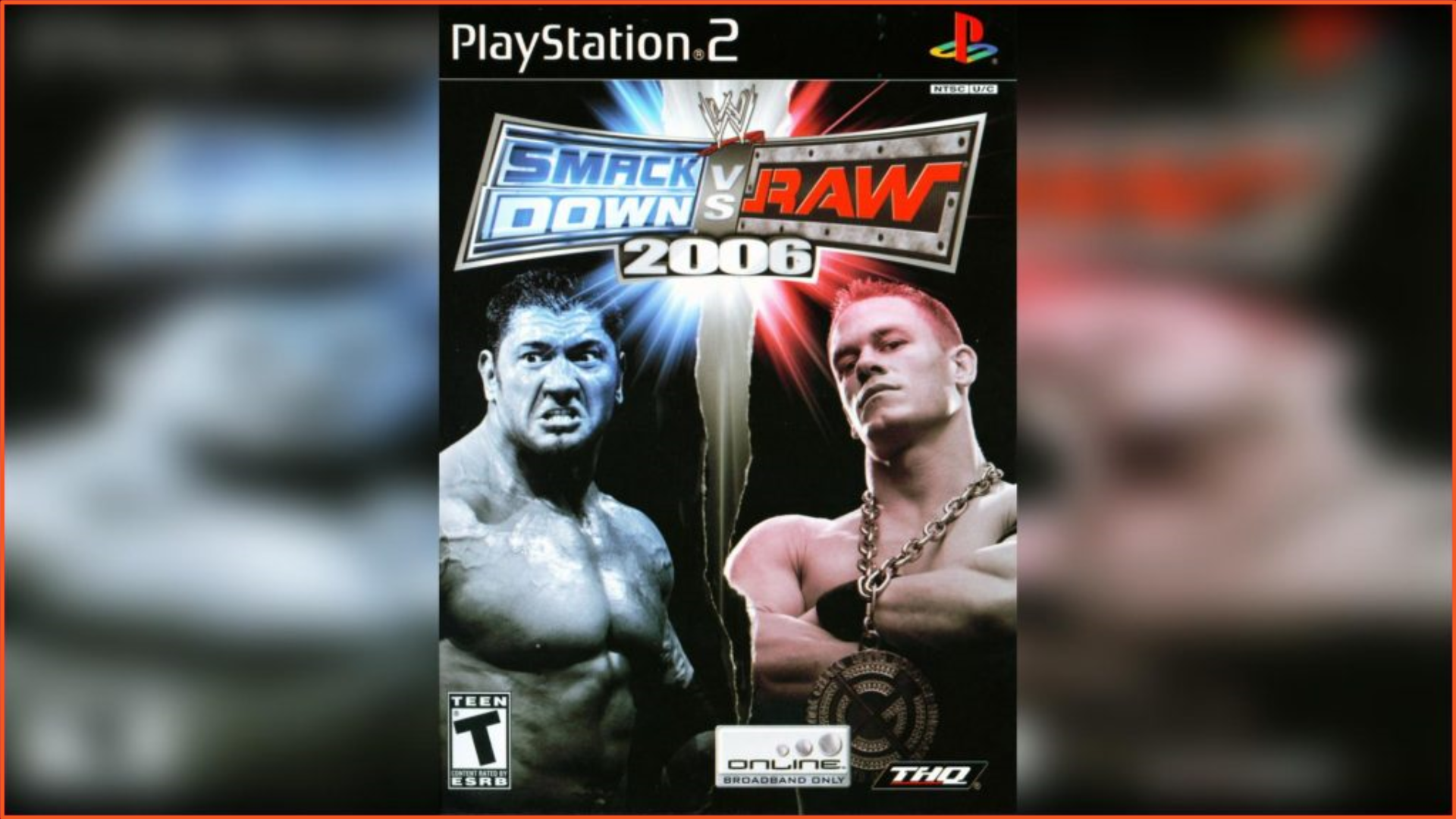 WWE SmackDown vs Raw 2006 PS2 ISO Download
