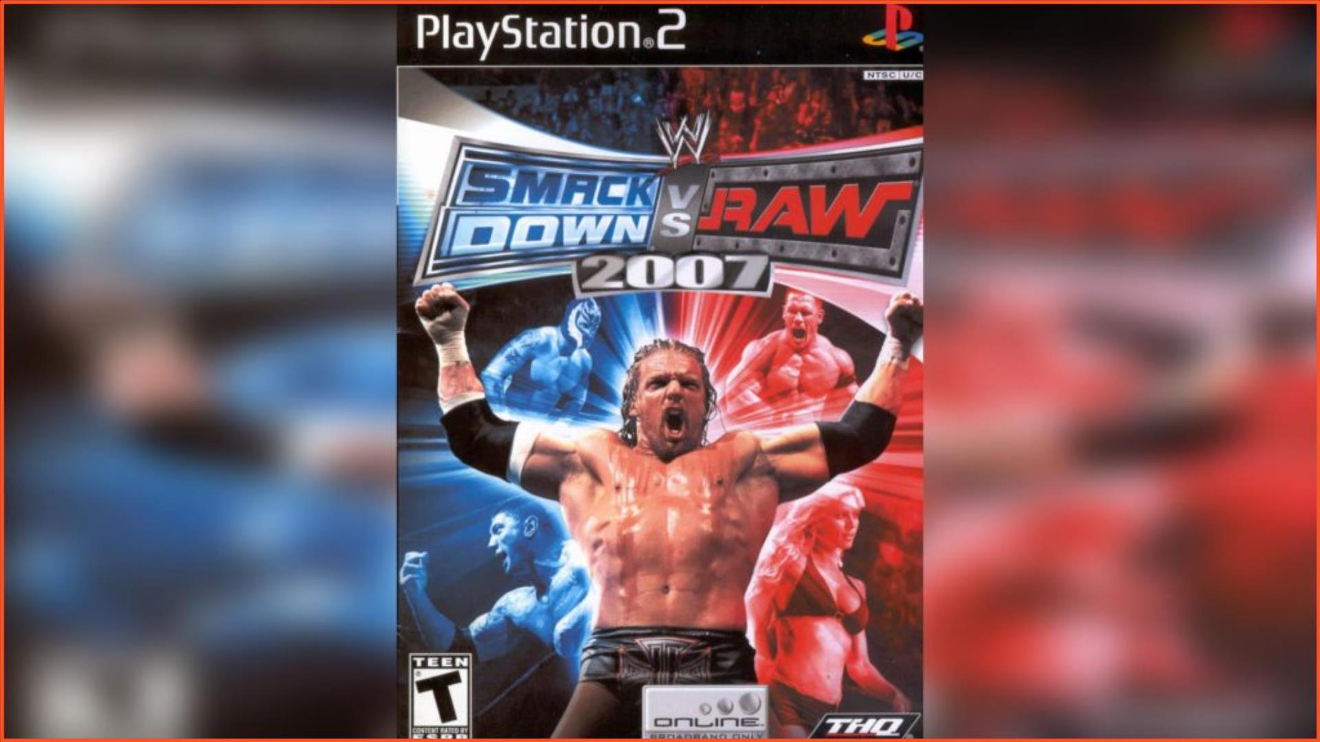 WWE SmackDown vs Raw 2007 PS2 ISO Download