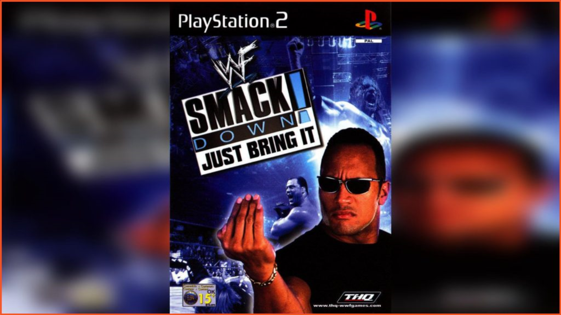 WWF SmackDown Just Bring It PS2 ISO Download