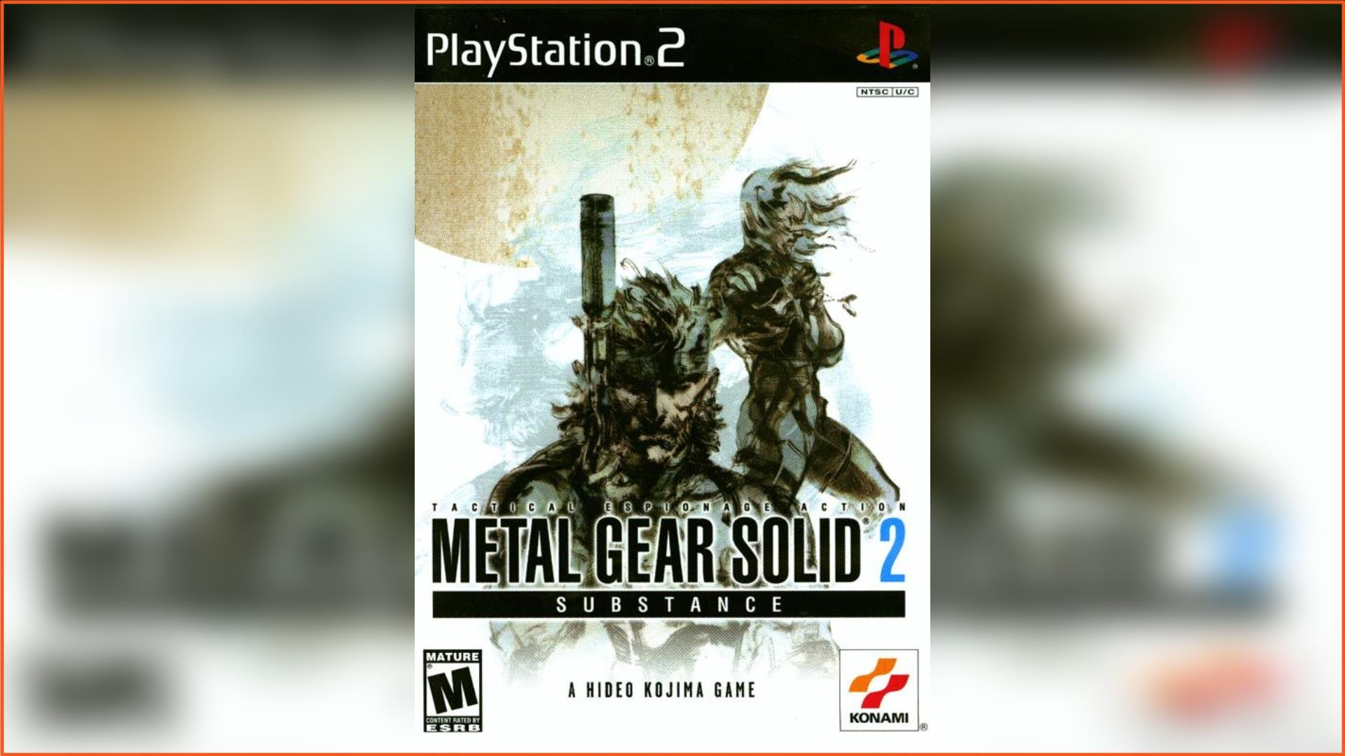 Metal Gear Solid 2 - Substance PS2 ISO Download
