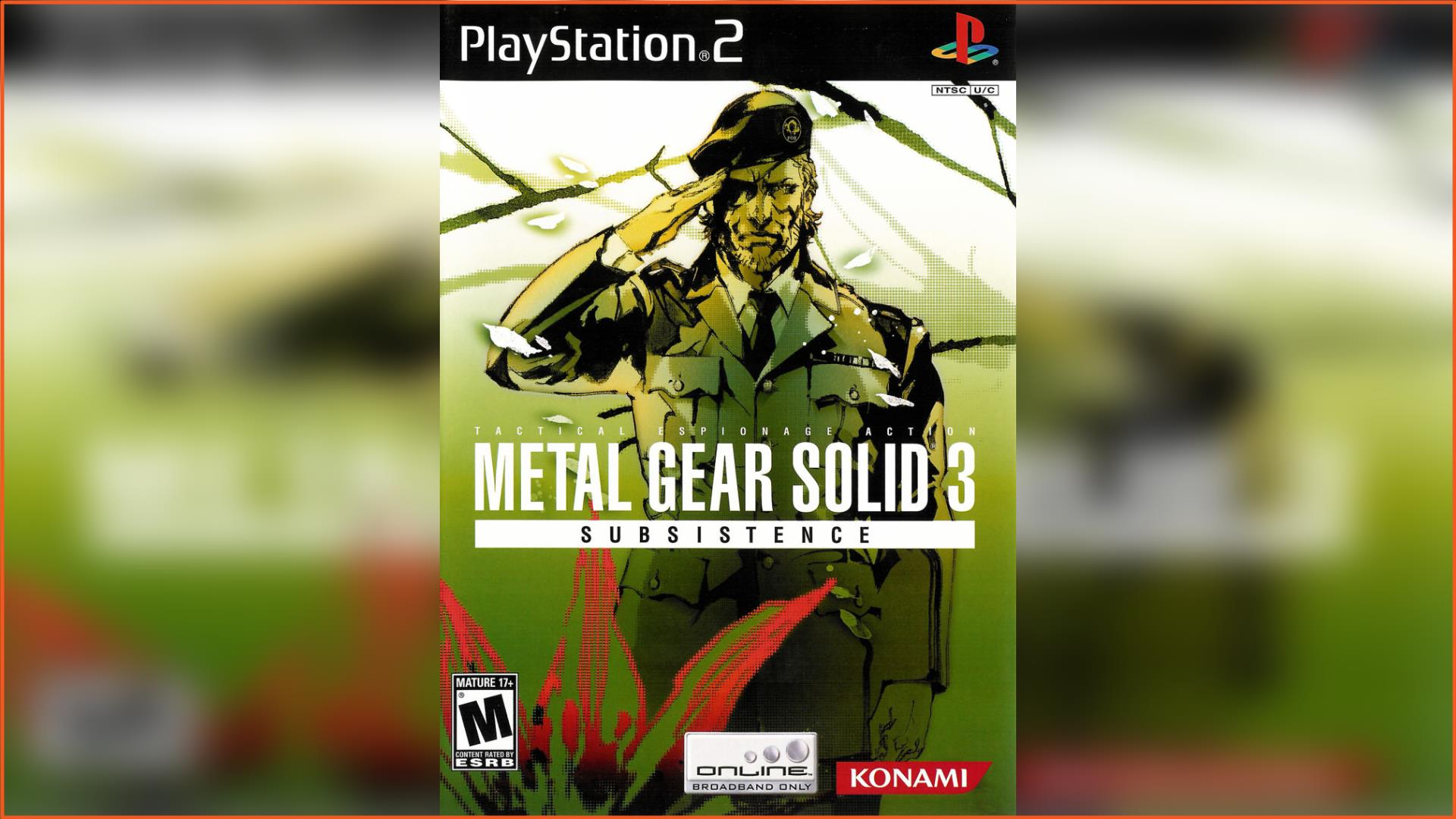 Metal Gear Solid 3 - Subsistence PS2 ISO Download