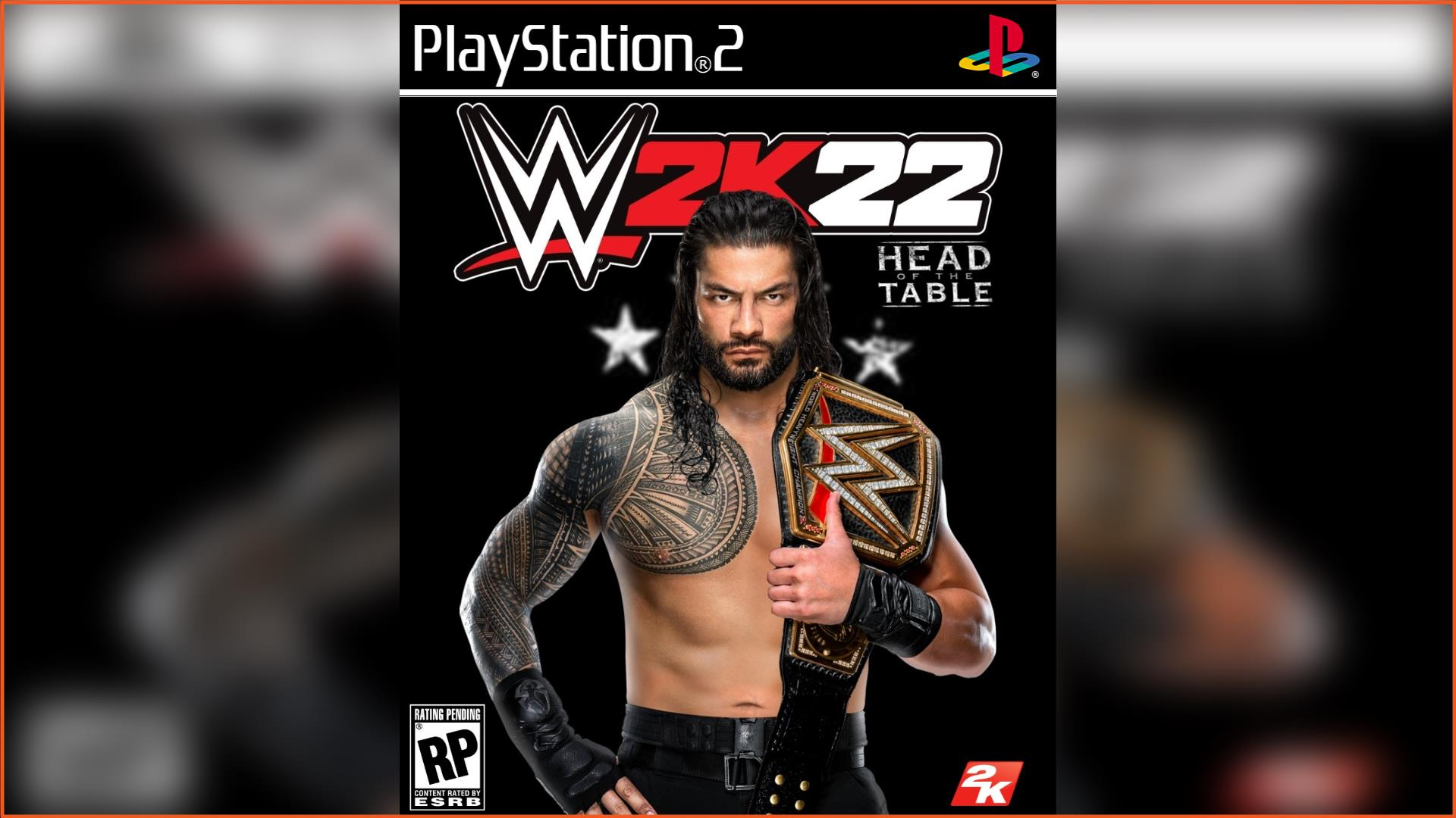 WWE 2K22 PS2 ISO Download