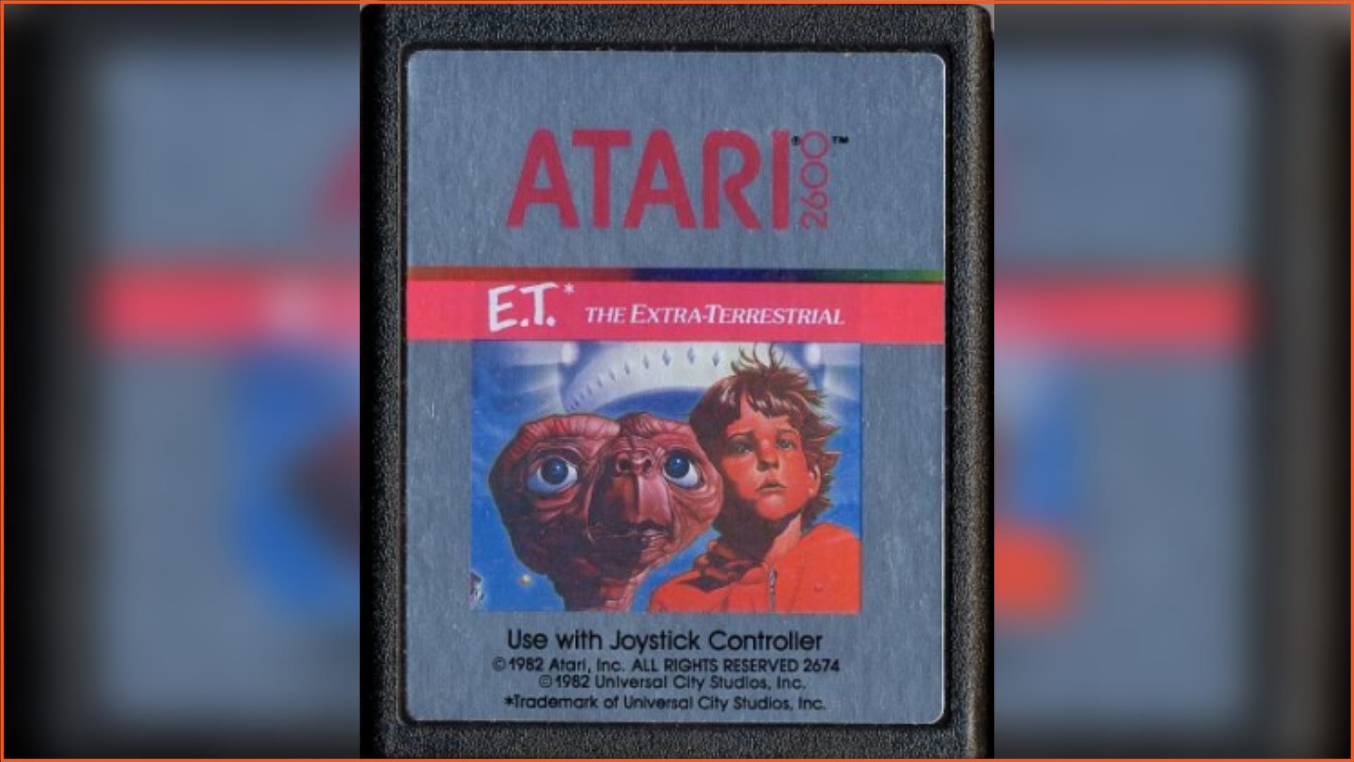 E.T. - The Extra-Terrestrial Atari 2600 ROM Download
