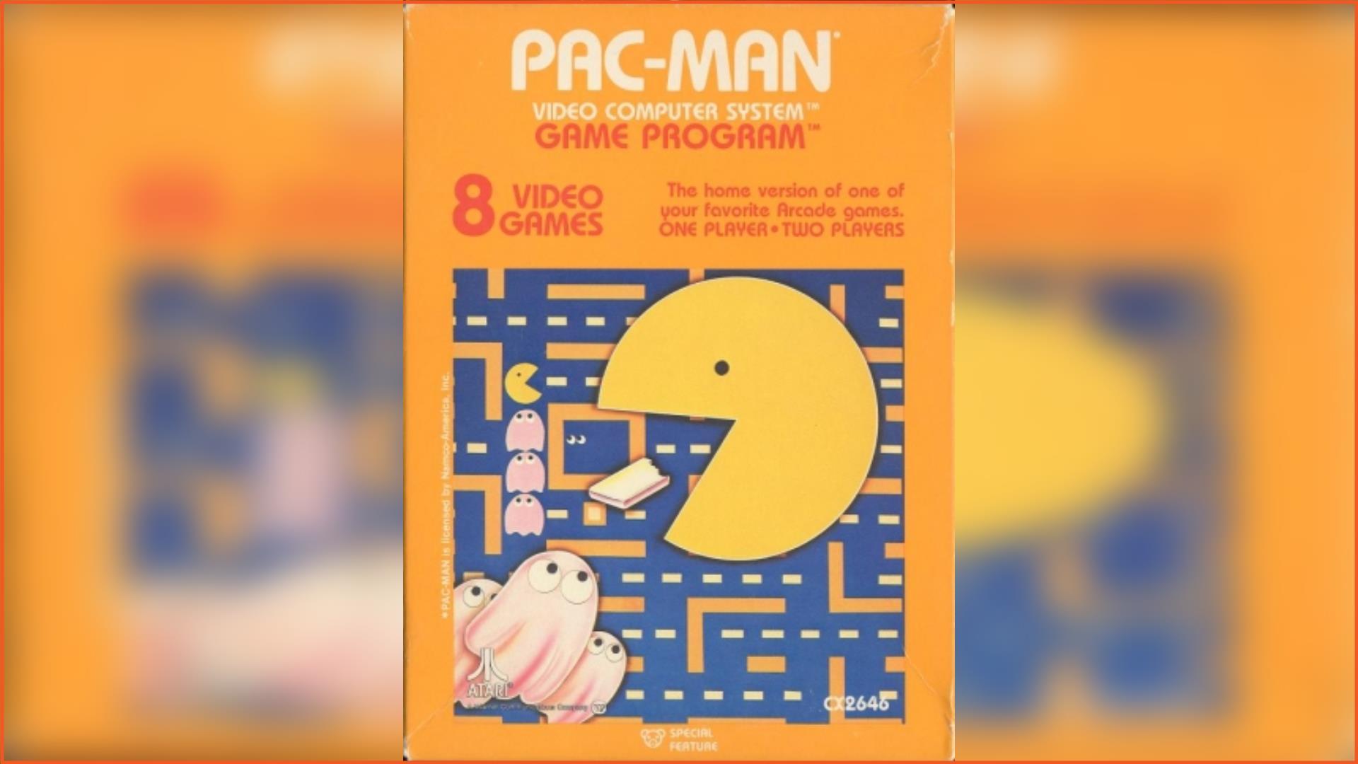 Pac-man Atari 2600 ROM Download