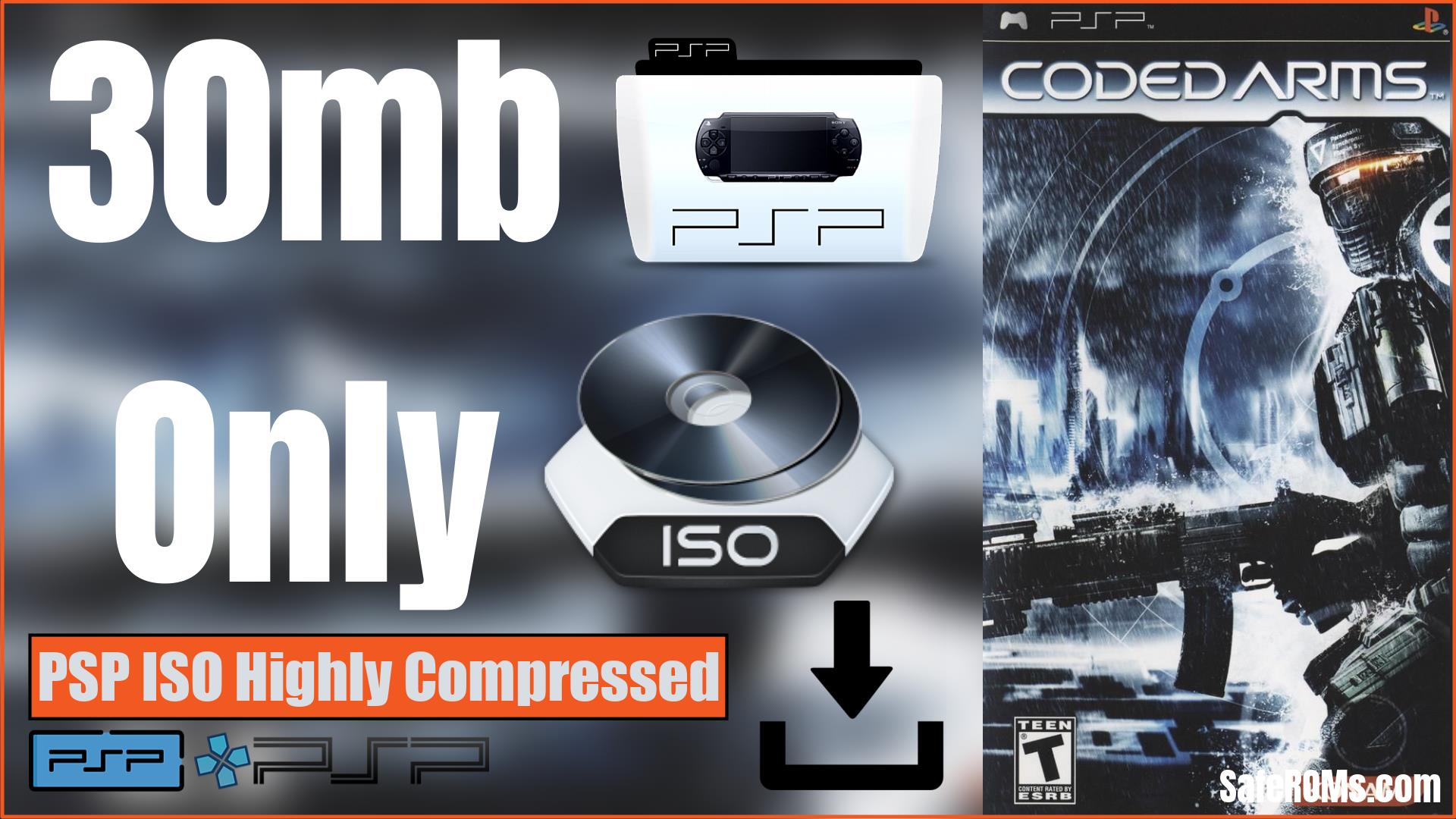Coded Arms PSP ISO Highly Compressed Download