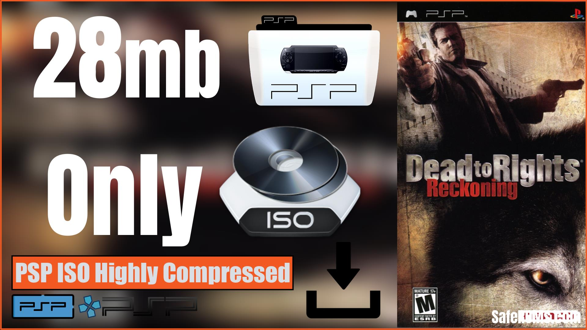 Dead to Rights Reckoning PSP ISO Highly Compressed Download