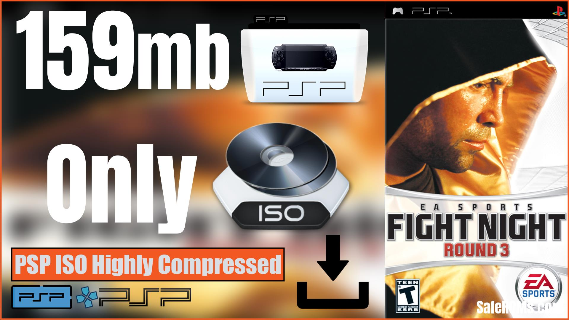 Fight Night Round 3 PSP ISO Highly Compressed Download