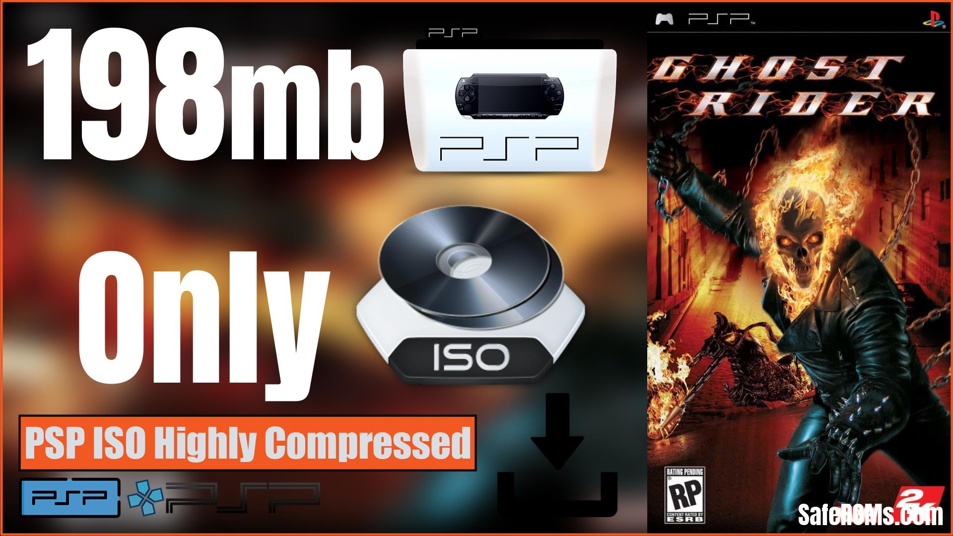 Ghost Rider PSP ISO Highly Compressed Download