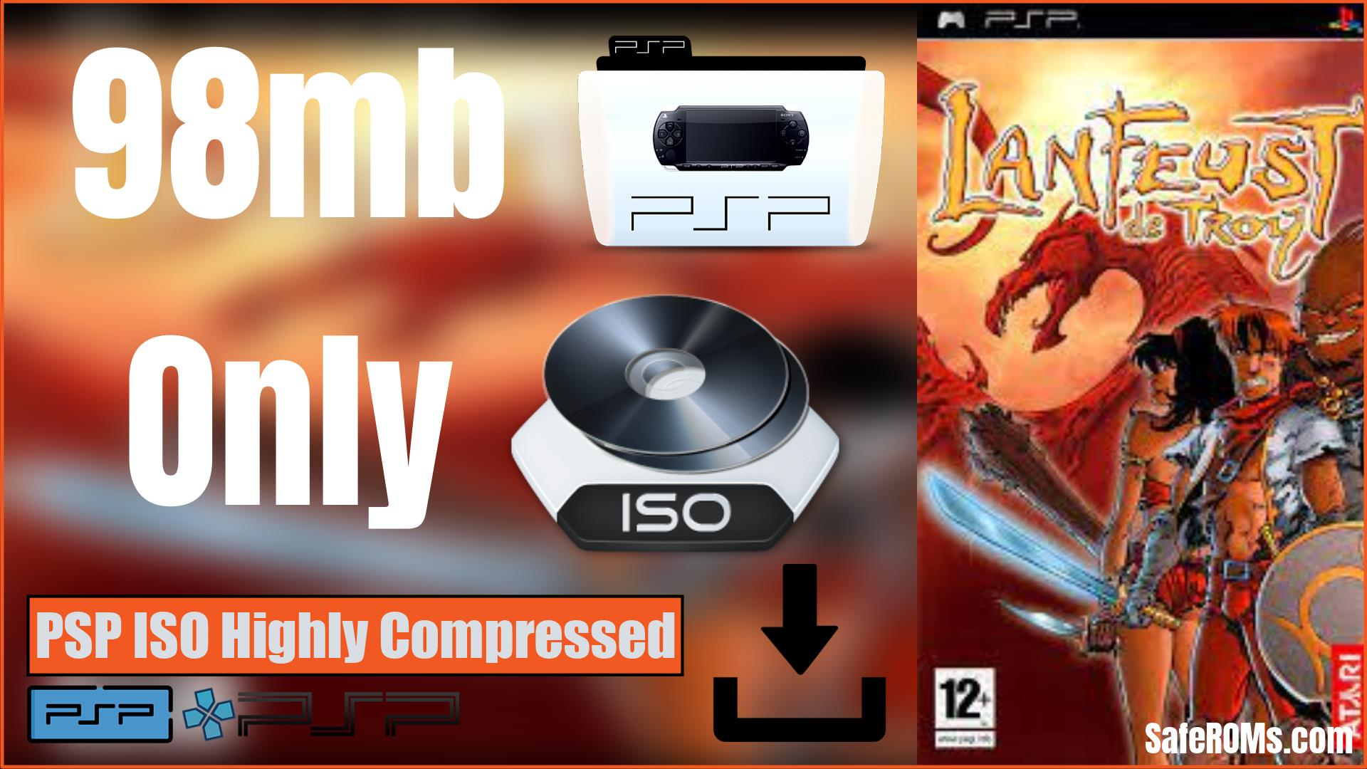 Lanfeust of Troy PSP ISO Highy Compressed Download